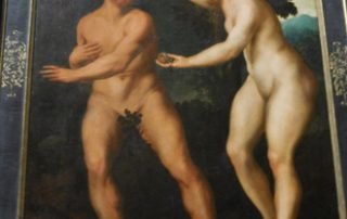 Naked Couple on Painting